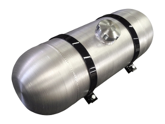 8x22 Center Fill Aluminum Gas Tank- 4.5 Gallon 1/4 NPT